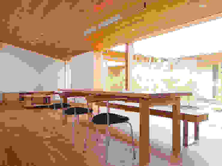 三本松の家 (House in Sanbonmatsu) モダンデザインの ダイニング の 合同会社グラムデザイン一級建築士事務所 モダン