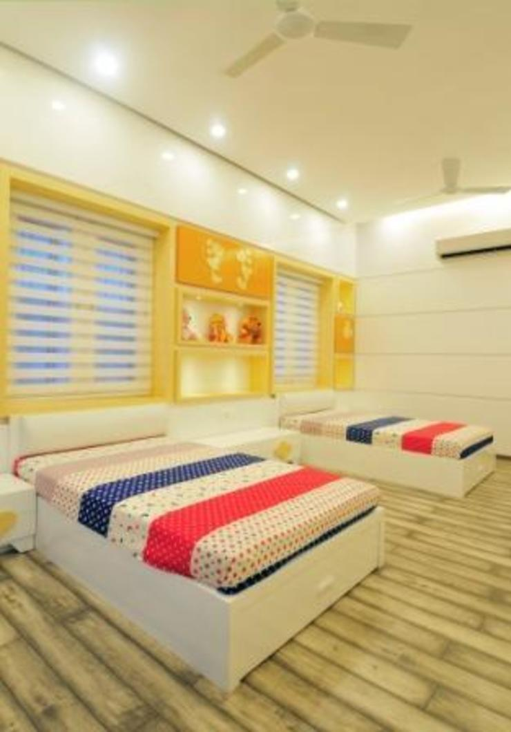 KIDS ROOM Modern style bedroom by artha interiors private limited Modern
