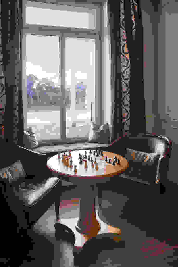 Hotel Villa Honegg Hotéis escandinavos por Jestico + Whiles Escandinavo