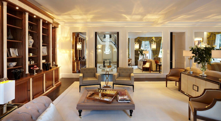 A London Residence based on the design of SS Normandie Classic style houses by Gosling Ltd Classic