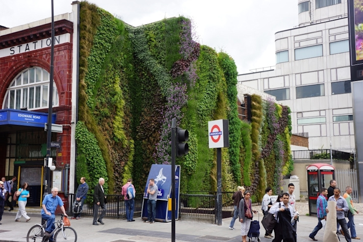 Edgware Road Tube Station by Biotecture