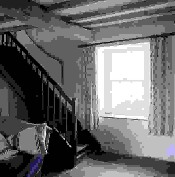 Welsh Farmhouse Corridor, hallway & stairs by Hackett Holland