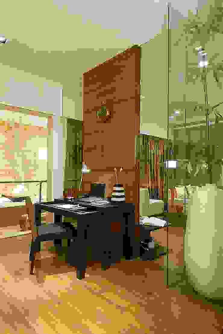 STUDY DEN shahen mistry architects Modern Houses