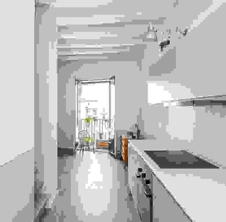 Cocina Casas de estilo moderno de ACABADOMATE Moderno