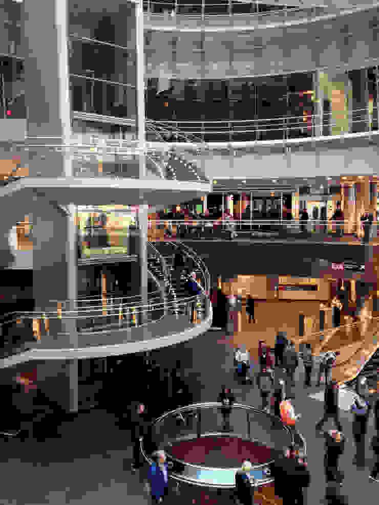 Fulton Center transit hub by Grimshaw Architects