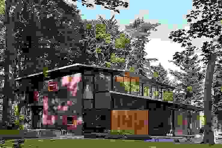 Villa's Bilthoven Moderne huizen van Cita architecten Modern