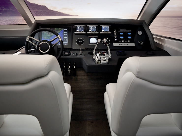 Pearl 65 Modern yachts & jets by Kelly Hoppen Modern