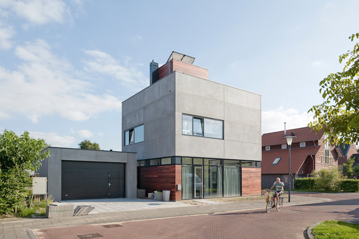 Casas estilo moderno: ideas, arquitectura e imágenes de Engel Architecten Moderno