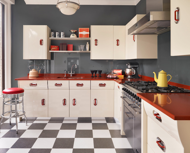 Interiors Modern kitchen by John Lewis of Hungerford Modern