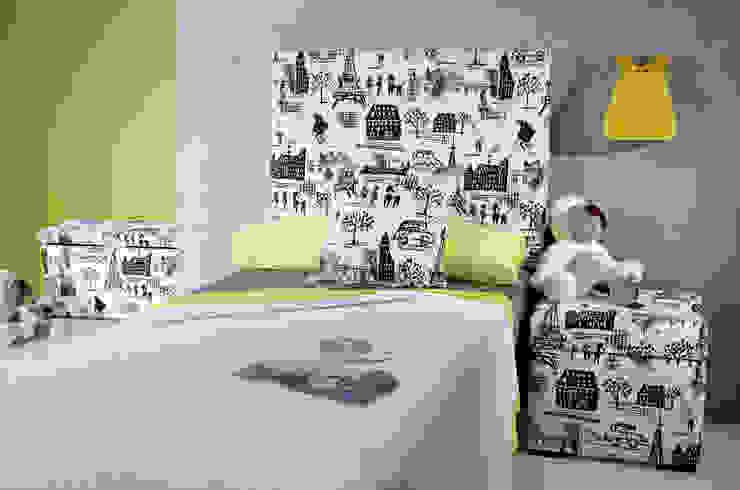 Dormitorio Infantil - Juvenil París de homify Moderno