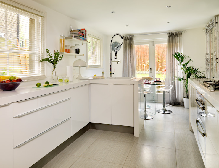 Camberwell Victorian House Modern kitchen by My Bespoke Room Ltd Modern