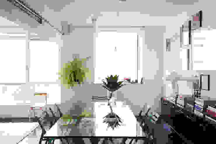 ANTONIO CARLOS RESIDENCE Mauricio Arruda Design Eclectic style dining room