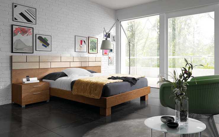 Modern style bedroom by Baixmoduls Modern