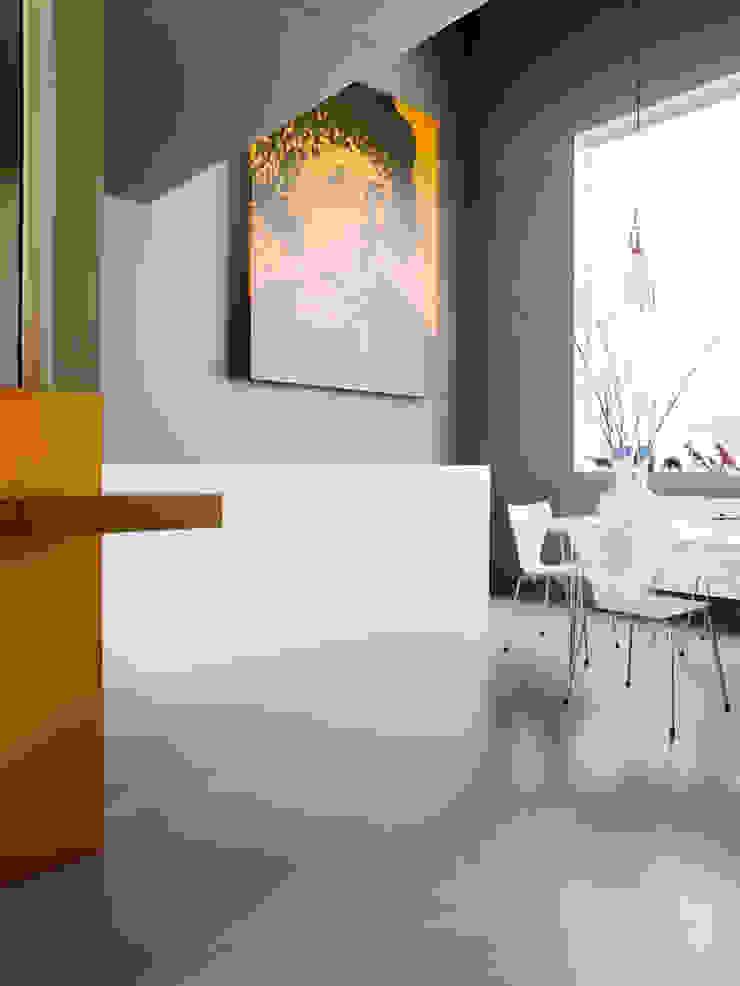 S-House Moderne woonkamers van VMX Architects Modern