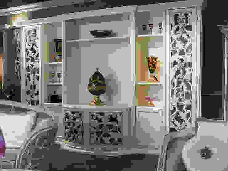 soggiorno stile barocco moderno