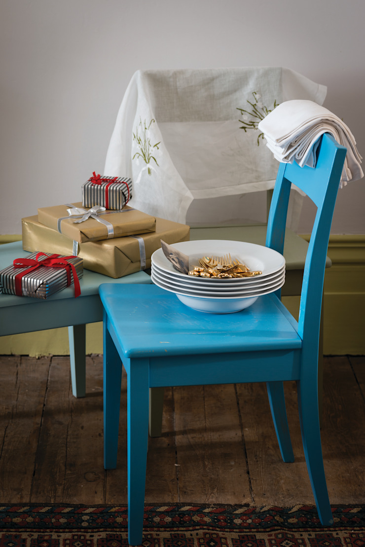 Christmas '14 Farrow & Ball Dining roomChairs & benches