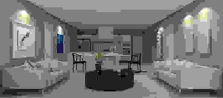Beach Flat Modern living room by Robson Martins Interior Design Modern
