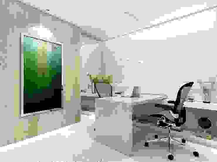Beach Flat Modern study/office by Robson Martins Interior Design Modern