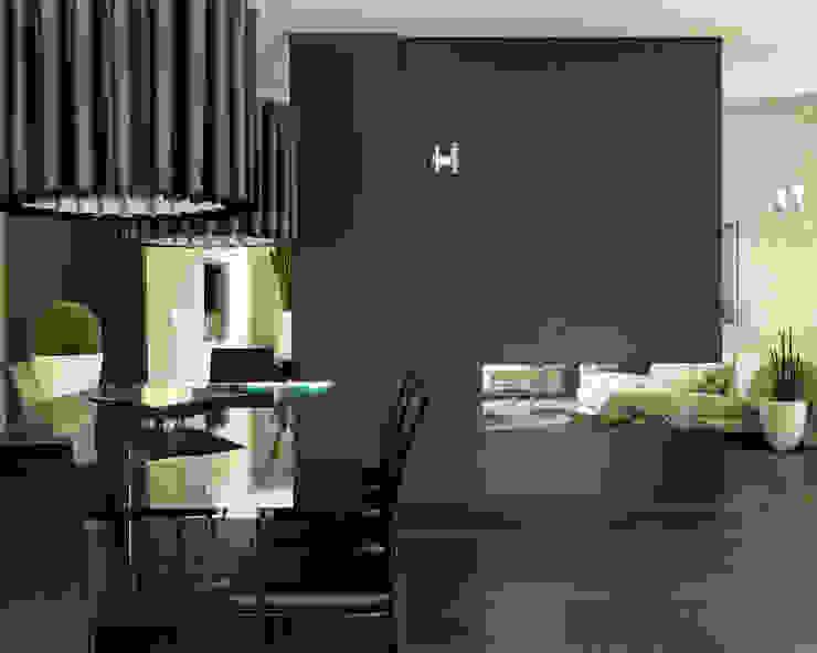 Studio d'Architettura MIRKO VARISCHI Ruang Makan Modern
