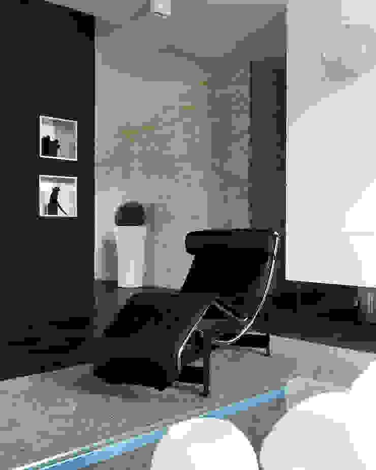 Studio d'Architettura MIRKO VARISCHI Ruang Keluarga Modern
