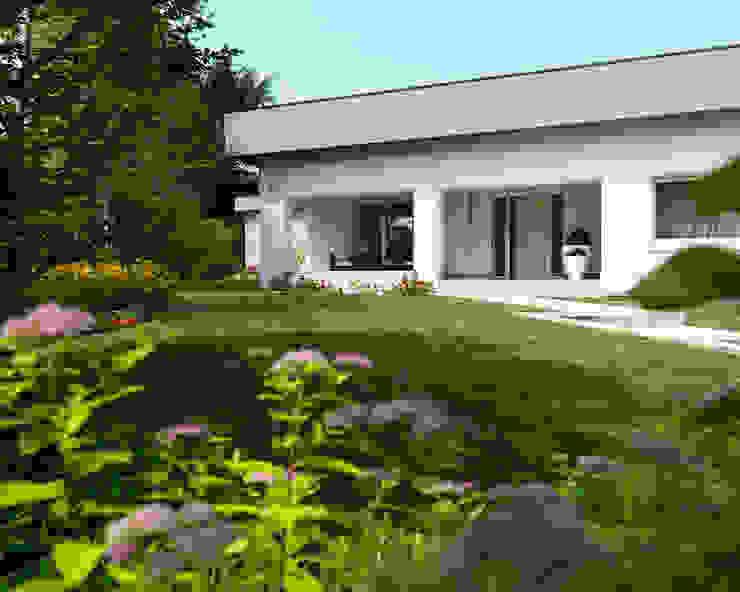 Studio d'Architettura MIRKO VARISCHI Koridor & Tangga Modern