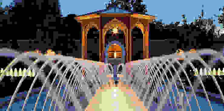حديقة تنفيذ Kamel Louafi Landschaftsarchitekten, إنتقائي