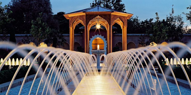 Jardines de estilo  por Kamel Louafi Landschaftsarchitekten, Ecléctico