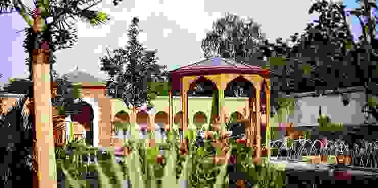 Orientalischer Garten, Berlin Ausgefallener Garten von Kamel Louafi Landschaftsarchitekten Ausgefallen