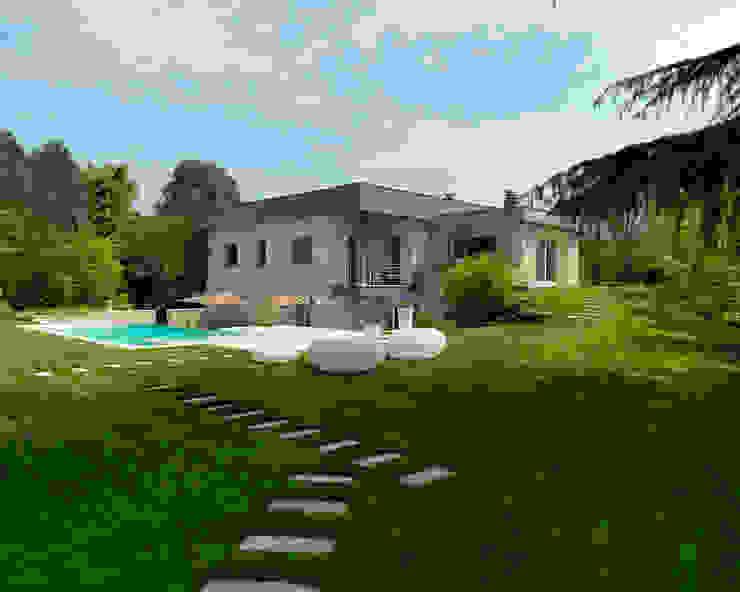 Modern Garden by Studio d'Architettura MIRKO VARISCHI Modern