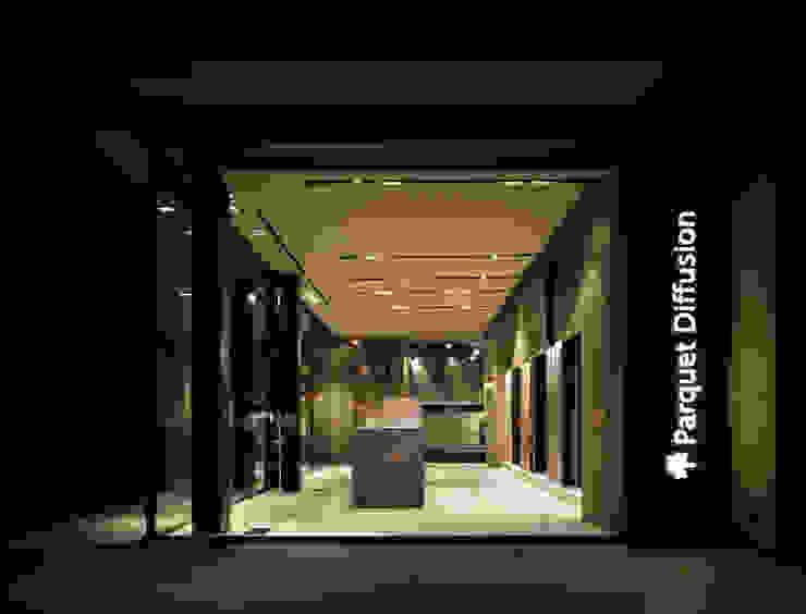 Parquet Diffusion Showroom vetrina BARTOLETTI CICOGNANI Negozi & Locali commerciali moderni