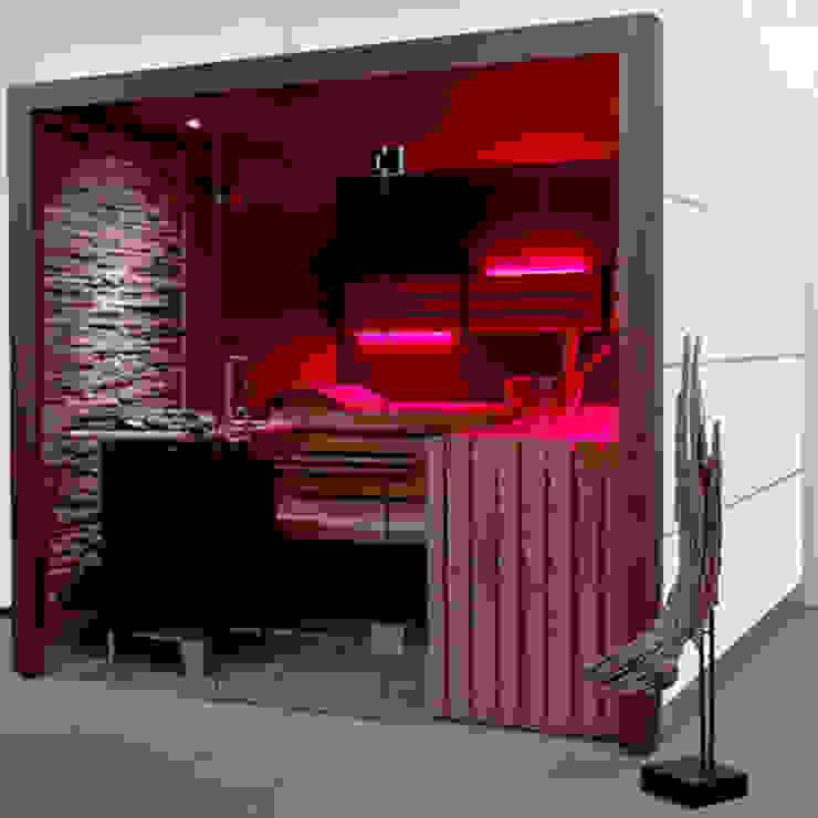 Scandinavian style spa by corso sauna manufaktur gmbh Scandinavian Glass