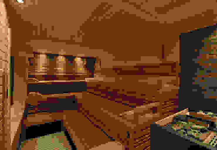 de corso sauna manufaktur gmbh Escandinavo Madera Acabado en madera