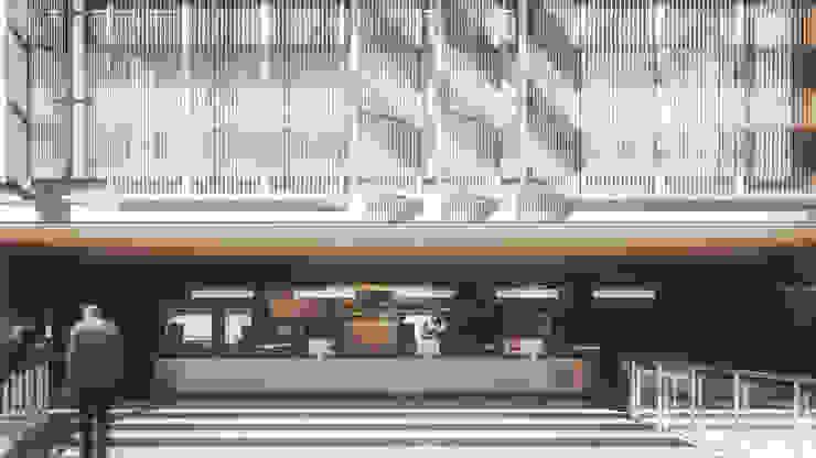 ANEXO CÂMARA MUNICIPAL DE PORTO ALEGRE Edifícios comerciais modernos por AF Arquitetura Moderno
