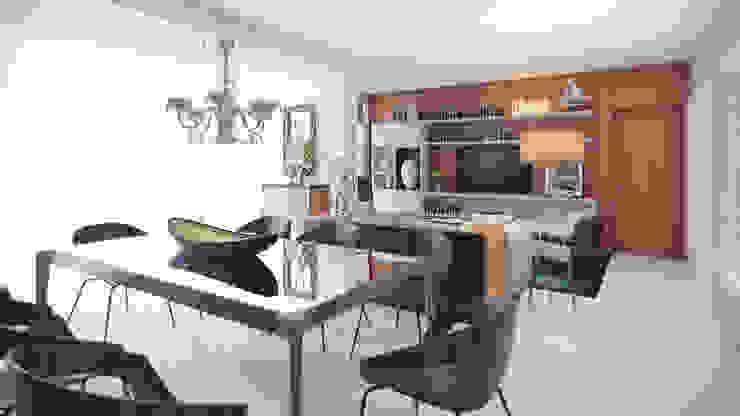 APTO VM AF Arquitetura Salas de jantar modernas