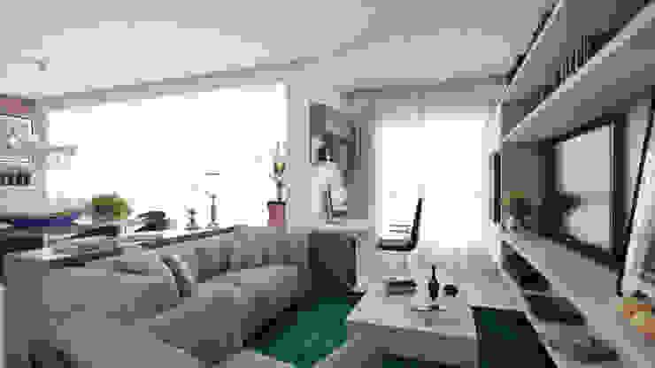 APTO VM AF Arquitetura Salas de estar modernas