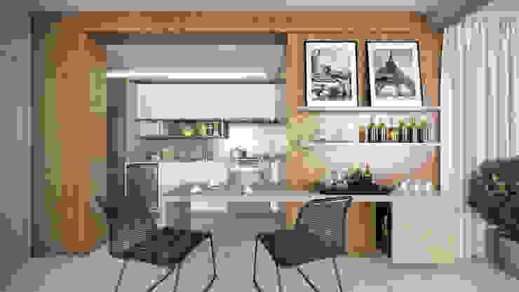 APTO VM AF Arquitetura Cozinhas modernas