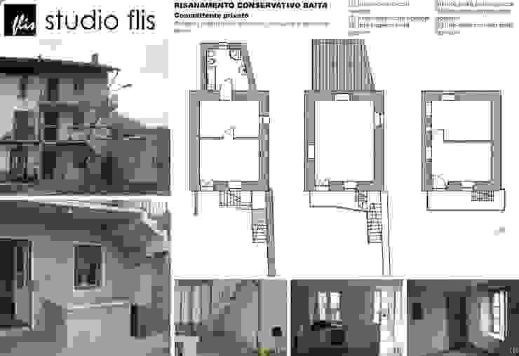 Risanamento conservativo baita di Architetto Igor Flis Rurale