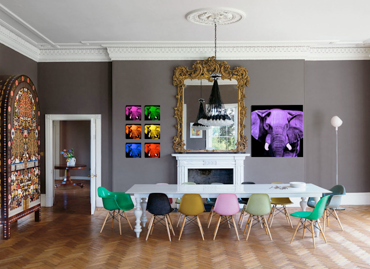 Home In-situ animal paintings Thierry Bisch - Peintre animalier - Animal Painter Dining room