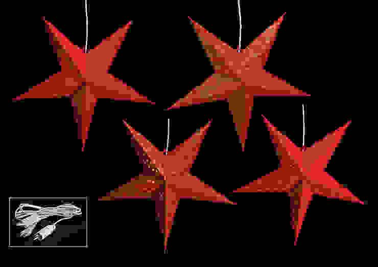 11577 - Stern zum Hängen aus Papier (ohne Beleuchtung) von G. Wurm GmbH + Co. KG Klassisch