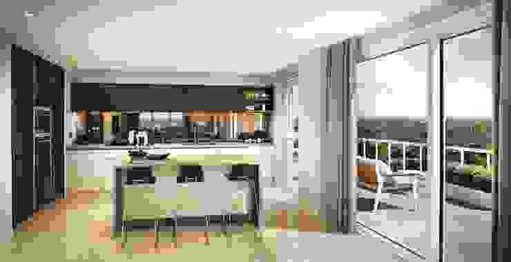 Kitchen de CGI Design Ltd Moderno