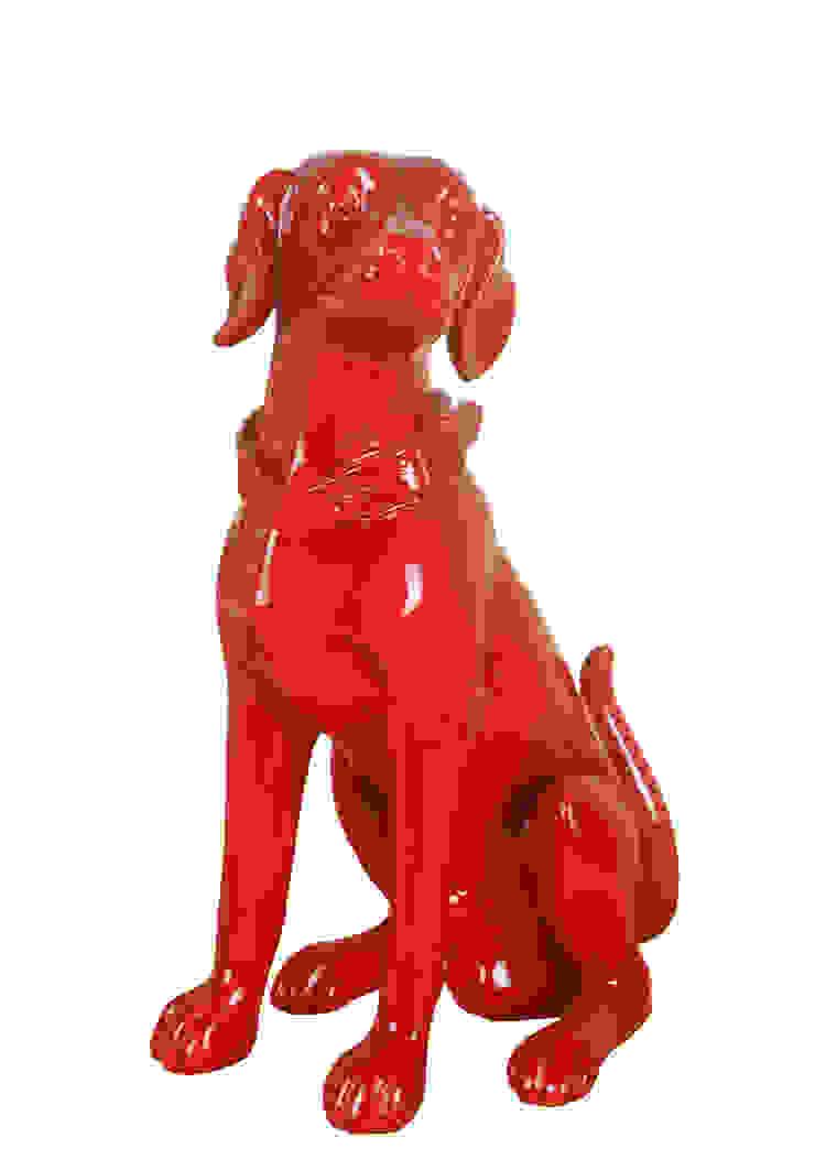 Sculpture de chien par Ascento Moderne