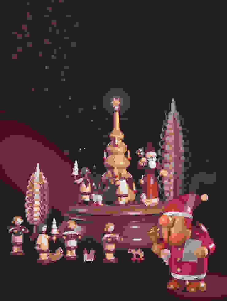 Weihnachtsvorfreude mit Erzgebirgischer Holzkunst von Kleinkunst aus dem Erzgebirge® Mueller GmbH