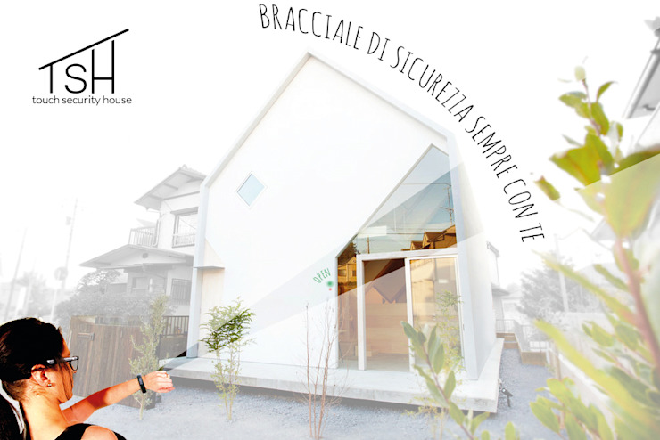 Came Design Award - Touch Security House, una casa a portata di mano:  in stile industriale di Ariedi&Moretto, Industrial