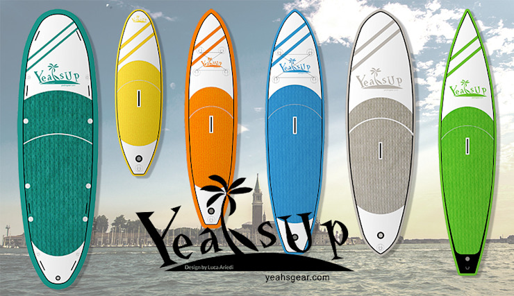 Yeah SUP - the low cost stand up paddle board di Ariedi&Moretto Moderno