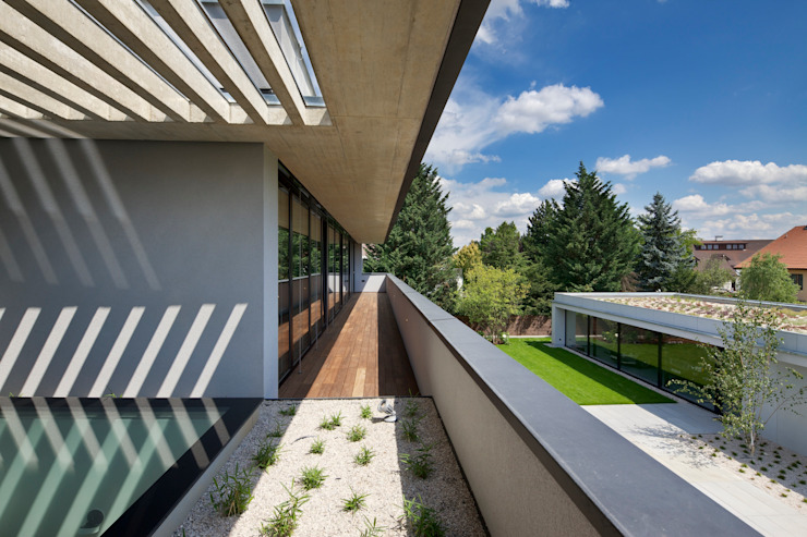 Villa Pruhonice, Prague Houses by Jestico + Whiles