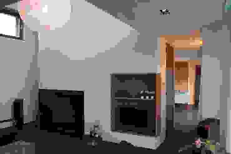 Woonhuis Joosse Moderne woonkamers van Groeneweg Van der Meijden Architecten Modern