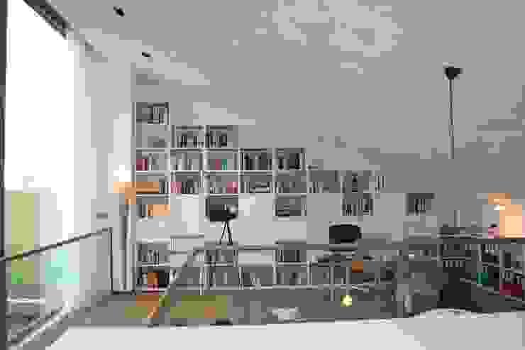 Woonhuis Joosse Moderne studeerkamer van Groeneweg Van der Meijden Architecten Modern