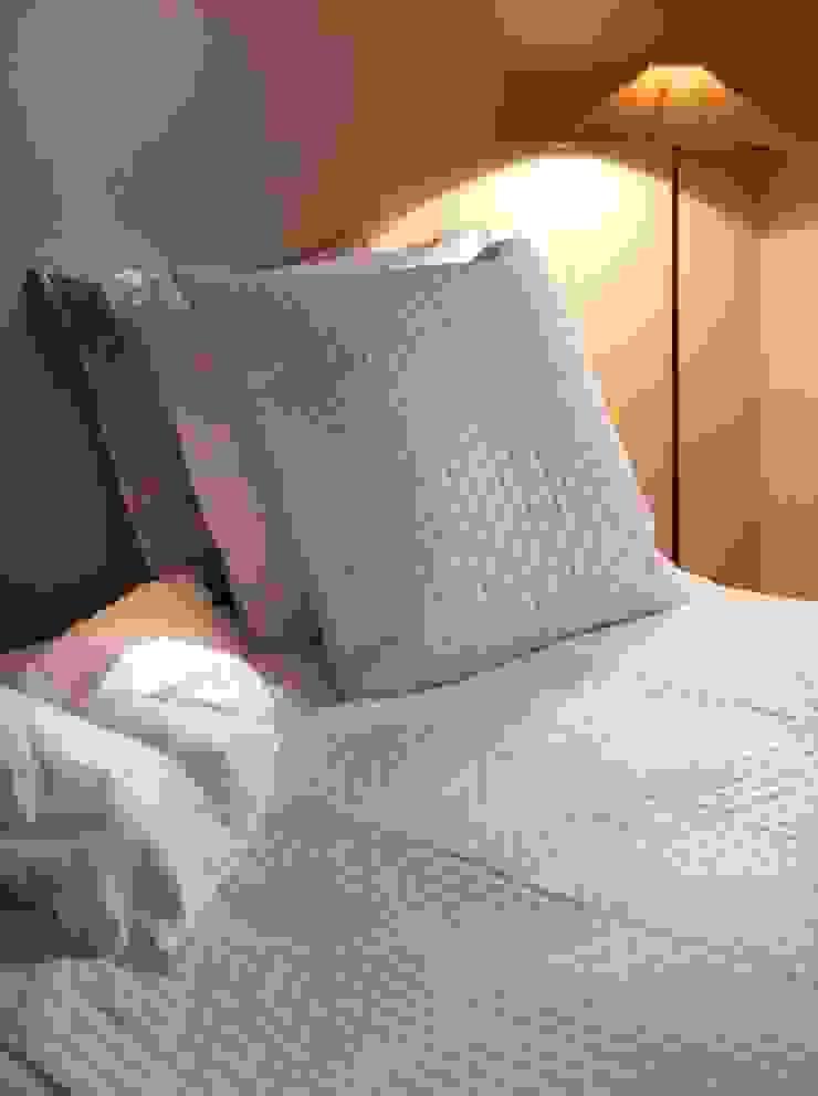 Maison d'été - Dessus de lit plumetis blanc naturel par MAISON D'ETE Classique
