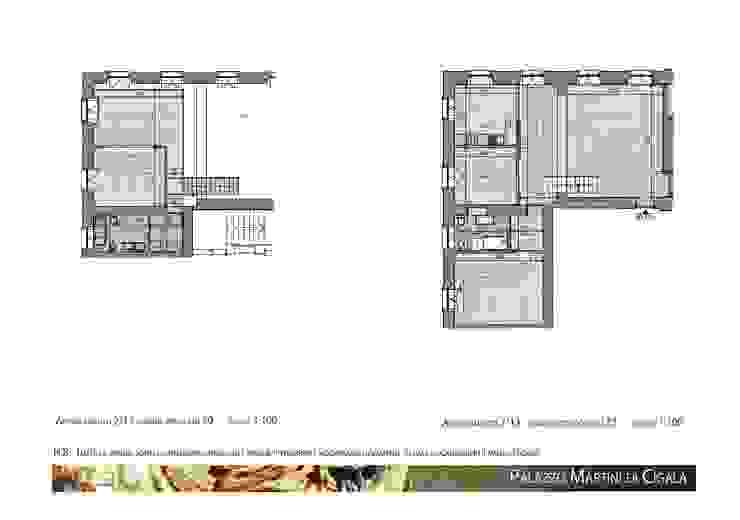 App.13, Palazzo Martini di Cigala Soggiorno moderno di Studio Deal - Architettura d'Interni - Moderno
