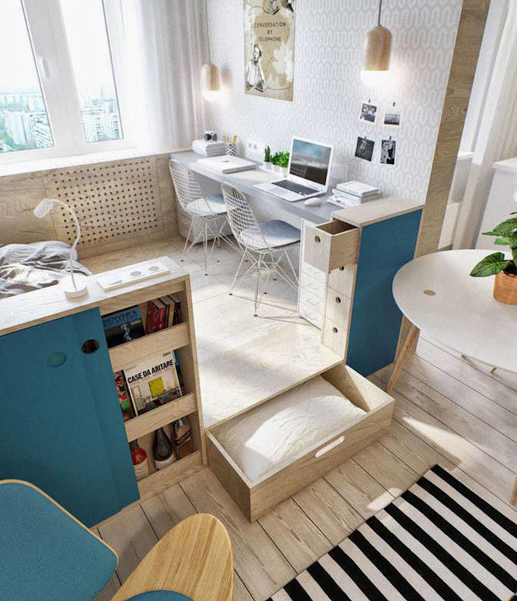 IdeasMarket Eclectic style study/office